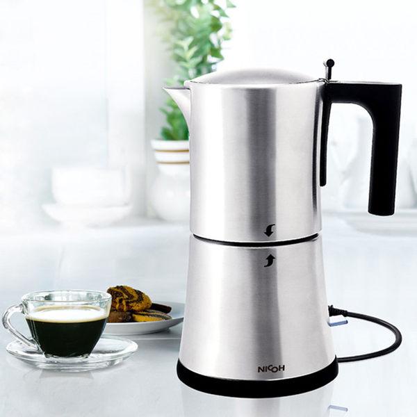 日本NICOH 電摩卡咖啡壺3~6杯【MK-06】(BMMK06)