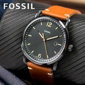 FOSSIL 簡約紳士風格時尚腕錶 FS5276 熱賣中!