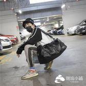運動包-短途旅行包男pu防水手提旅行袋行李包獨立鞋位訓練包運動健身包潮