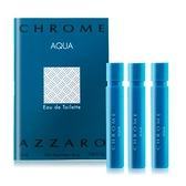 AZZARO 碧海鉻元素男性淡香水針管(1.2ml)X3 EDT-隨身針管試香