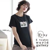❖ Autumn ❖ 照片打印圖案短袖T恤 - E hyphen world gallery