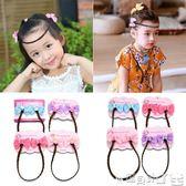 兒童髮飾 韓國兒童假辮子頭繩頭箍女童假髪髪飾公主可愛寶寶邊夾髪卡頭飾品 寶貝計畫