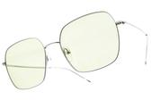CARIN 太陽眼鏡 HEATHER C3 (銀-綠鏡片) 韓星秀智代言 韓系簡約大方款 # 金橘眼鏡