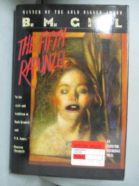 【書寶二手書T8/原文小說_CB2】The Fifth Rapunzel : An Inspector Maybridge Novel_B M Gill