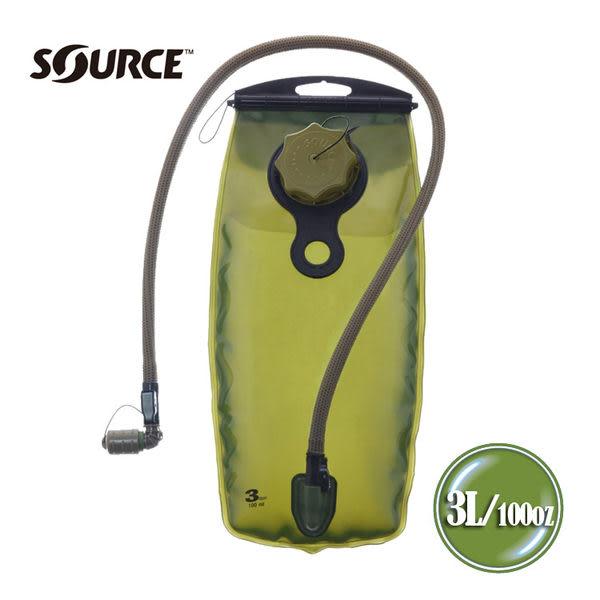Source 軍用水袋 4305530003 WXP 3L 狼棕色 /城市綠洲(以色列原裝進口)
