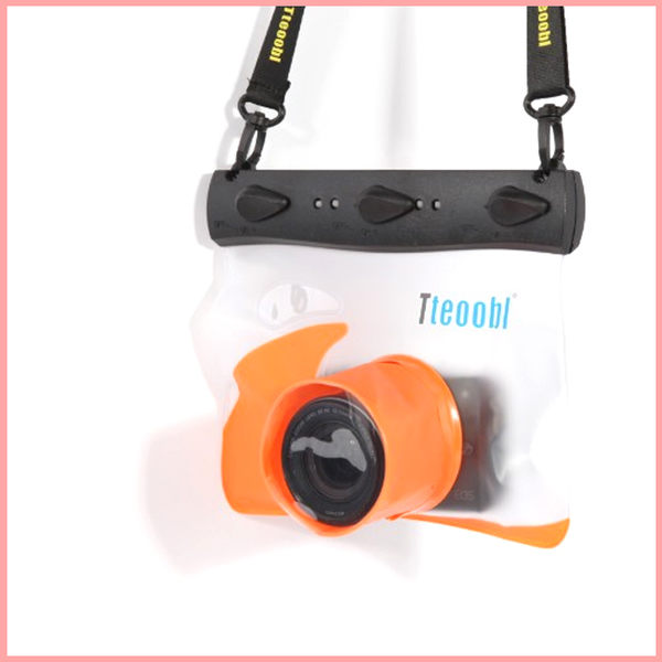 Tteoobl/特比樂T-508L/20米通用微單相機防水袋潛水遊泳水下拍 萌果殼