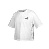 PUMA 女基本系列短版短袖T恤(純棉 休閒上衣 慢跑 路跑 亞規≡體院≡ 586597