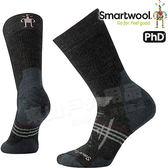 Smartwool PhD OD Hvy SW001076-003碳黑 女戶外重量級減震中長襪 美麗諾羊毛襪/戶外襪機能排汗襪/雪襪