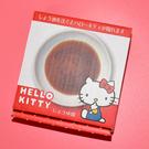 Hello Kitty 浮水印 醬油碟 磁器 日本正版