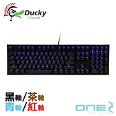 Ducky ONE 2 PBT鍵帽 2代 藍光 機械式鍵盤