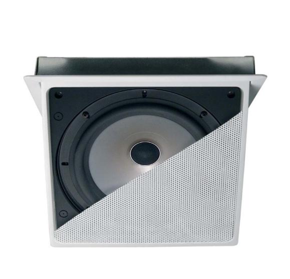 《名展影音》英國 KEF Ci200.3QT 電動屏幕 吸頂式喇叭/支