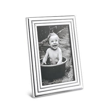 丹麥 Georg Jensen Legacy Picture Frame 喬治傑生 銀波紋 立體相框 小尺寸