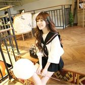 日本女學生水手服套裝夏JK制服校服班服日系短袖海軍風甜美學院風【端午節免運限時八折】