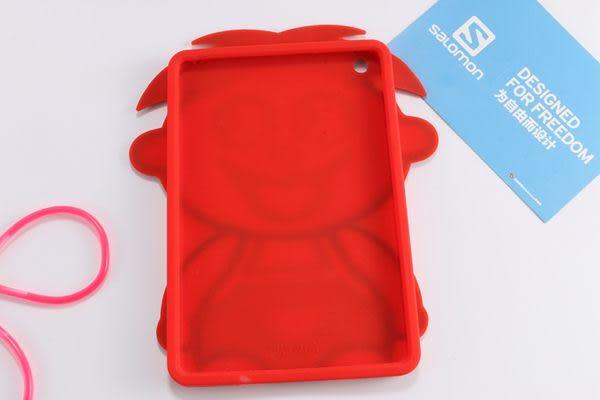 88柑仔店~2015旺仔牛奶 蘋果ipad mini1/2/3矽膠套 平板通用軟殼防摔保護套