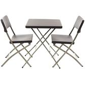米格一桌二椅組 方桌款 戶外家具