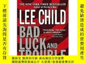 全新書博民逛書店~ 外文書 Bad Luck and Trouble [平裝] [黴運與麻煩]Y205213 LeeChild
