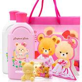 英國貝爾抗菌沐浴洗髮組(玫瑰款)+婚禮款香皂含紙袋