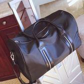 新款手提行李包女長短途旅行包防水健身包登機包男士行李袋大包包   卡布奇諾