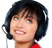 頭戴式客服耳機話務員電腦耳麥電銷電話機語音水晶頭耳麥廠家 百搭潮品