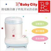 ✿蟲寶寶✿【娃娃城Babycity】新手媽媽要入手!大容量 微電腦負離子烘乾蒸氣消毒鍋 台灣製造