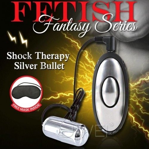 美國PIPEDREAM.Fantasy Series系列 Shock Therapy Silver Bullet 銀彈電波脈衝跳蛋刺激器