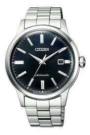 [Y21潮流精品直播] CITIZEN Mechanical摩登復古魅力機械腕錶-銀X藍(NK0000-95L)