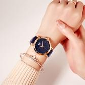 2018新款簡約手錶女士防水時尚潮流學生超薄休閒大氣石英女錶【全館上新】
