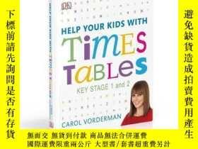 二手書博民逛書店英文原版罕見幫你的孩子學乘法表 數學 DK家庭教育系列 Help Your Kids With Times Tab