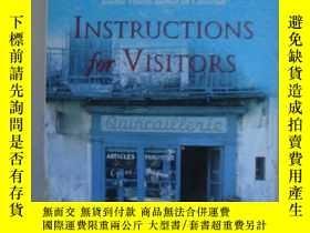 二手書博民逛書店Instructions罕見for VisitorsY85718