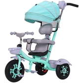 兒童腳踏車 兒童三輪車腳踏車1-3-5-2-6歲大號寶寶童車輕便嬰兒手推車 莎拉嘿呦