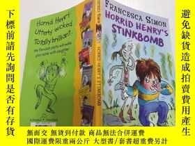 二手書博民逛書店Horrid罕見Henrys Stinkbomb:可怕的亨利的臭炸彈.Y200392