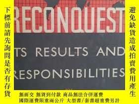 二手書博民逛書店Reconquest:its罕見results and resp