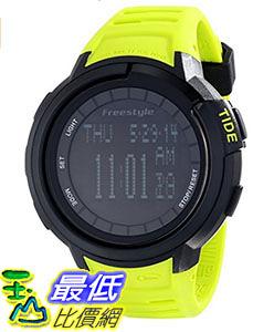 [106美國直購] Freestyle 手錶 Unisex 103184 B00DPE2894 Mariner Round Yacht Time Black LCD Display Watch