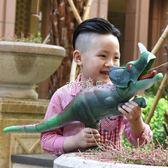 兒童戲水玩具 兒童水槍玩具戲水高壓力漂流恐龍水槍沙灘玩具 珍妮寶貝