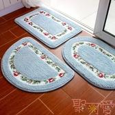 浴室地墊吸水防滑墊門墊進門洗手間臥室地毯【聚可愛】