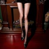 極光閃亮波點開襠褲襪 (黑)《金牛大吉》