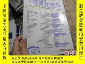 二手書博民逛書店notices罕見of the amercian mathema