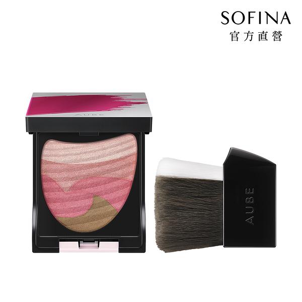 SOFINA 星鑽美型一刷綻彩頰彩盤 01