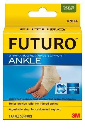 元氣健康館 3M FUTURO 護踝(襪套纏繞型)護踝/Futuro護踝 美國專業護具領導品牌/ M下標區