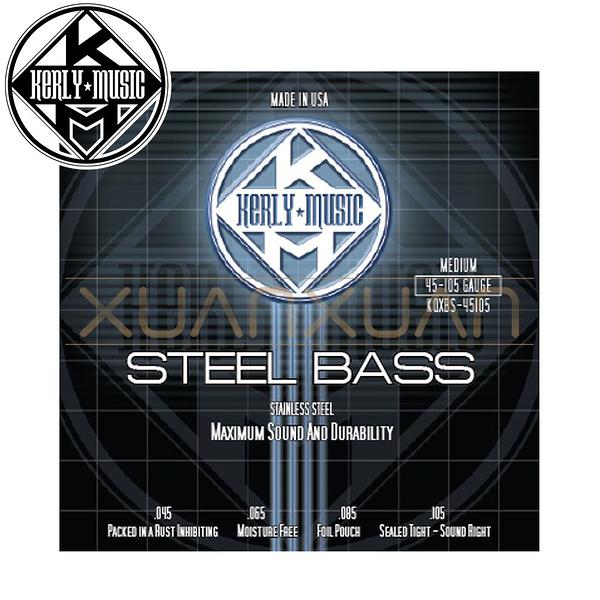 【小叮噹的店】全新 美國 Kerly Music Stainless Bass系列 不銹鋼 4弦 電貝斯弦