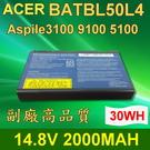 ACER 4芯 BATBL50L4 高品質 電池 Aspire 3104WLMiB80F 3650 3690 3692WLCi 3693WLMI 3694WLMi 5100 5101 5101AWLMi