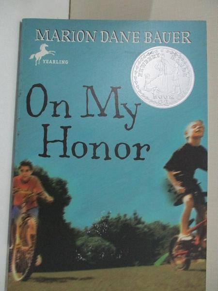 【書寶二手書T1/原文小說_CCE】On My Honor_Marion Dane Bauer