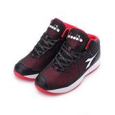 DIADORA KPU超輕籃球鞋 黑紅 DA6572 男鞋 鞋全家福