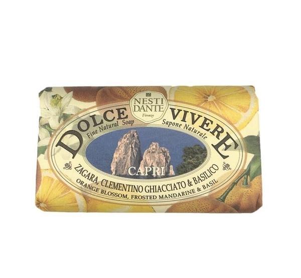 義大利 NESTI DANTE 身體香皂 Dolce Vivere 橙花 磨砂柑桔 羅勒 (Orange Blossom/ Frosted Mandarine/ Basil) 250g