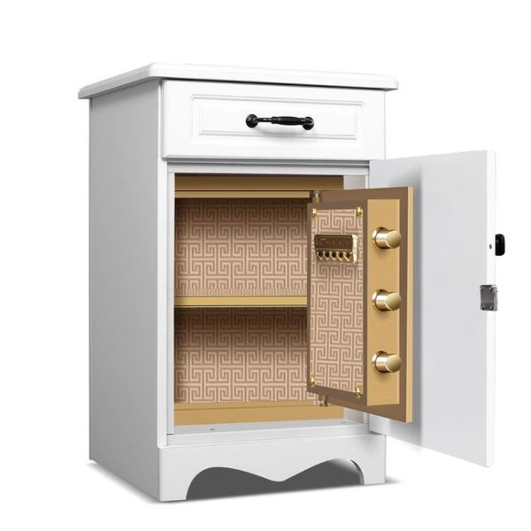 虎牌保險櫃家用小型保險箱櫃全鋼防盜55/67cm雙門辦公保管箱CY  【PINKQ】