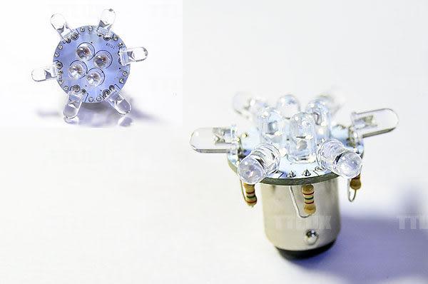 堆高機LED燈泡 煞車燈 倒車燈 (48V 燈泡 單芯BA15S 雙芯BAY15D 電動自行車 電動機車可用)