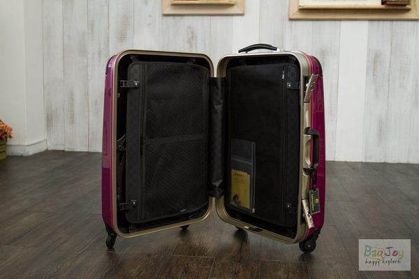 Commodore 27吋 戰車牌行李箱  輕量化款式 (亮面 亮彩紫)