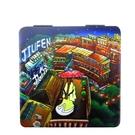【收藏天地】台灣紀念品*雙面隨身鏡-九份風華∕小物 送禮 文創 風景 觀光  禮品