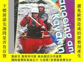 二手書博民逛書店Canoeing罕見and Kayaking---[ID:297