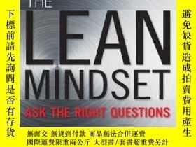 二手書博民逛書店The罕見Lean Mindset: Ask the Right QuestionsY191304 Mary